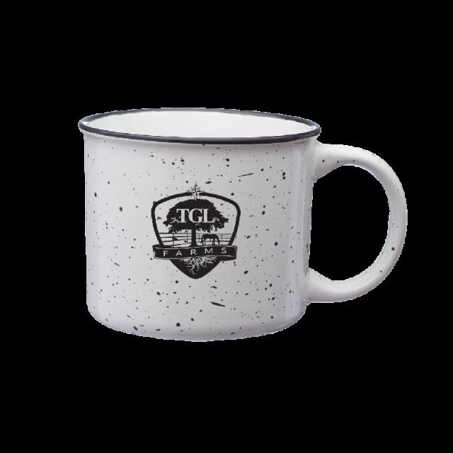 TGL Farms campfire mug